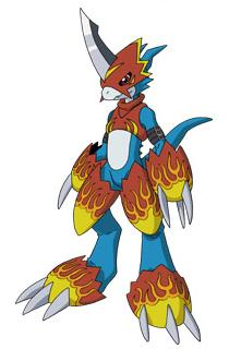 Nadako Shinji's Avatar Flamedramon