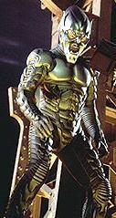 Willem Dafoe in the Green Goblin costume